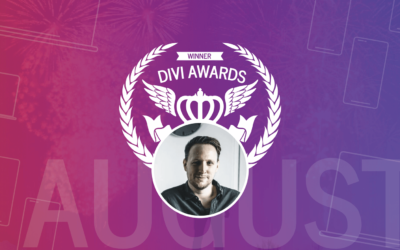 The August 2019 Divi Awards